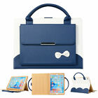 """Bowknot Handbag Leather Stand Portable Case Cover For iPad 7th Gen 10.2"""" 2019"""