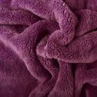 Double Sided Super soft Cuddle soft Fabric Material - PURPLE