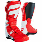 OUTLET New Shift Racing White Label Motocross Enduro Boots Red MX ATV Botas