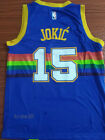 New season Men's Denver Nuggets #15 Nikola Jokic basketball jersey rainbow blue on eBay