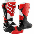 New Fox Racing Comp R Motocross Boots Red Black Botas Stivali Enduro OUTLET