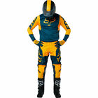 Fox Racing 180 Przm Navy Yellow Motocross Gear Kit Combo Enduro Downhill OUTLET