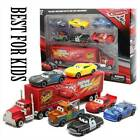 Cars 3 Lightning McQueen Racer Car&Mack Truck Kids Toy Collection Set Xmas Gifts