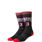 Stance NBA Arena 76ixers Iverson Men's Sport Basketball Crew Socks M545C18IVH on eBay