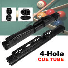 2x2 1/2 Leather Billiard Stick Pool Barrel Hard Cue Tube Case Black w/ Handle $27.97 USD on eBay