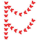 Colorful Butterfly Paper Garland Birthday Party Baby Shower Wedding 3D Decors