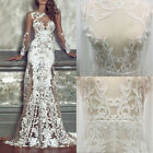 Dress Formal Party Evening Gown Women's Wedding Bridesmaid Lace Floral Dresses