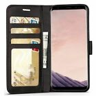 For Samsung Galaxy A2 Core Case Cover Magnetic Flip genuine Leather Wallet phone