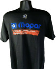 Black T-Shirt w/ 1985-90 Mopar Logo Chrysler Corporation Genuine Parts Emblem $16.99 USD on eBay