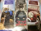 2020 SLIMLINE STEAM TRAIN OR CLASSIC CARS CALENDAR