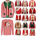 UGLY Christmas Hooded Sweater Mens Women's Funny Xmas Hoodie Jumper Pullover Top