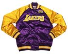 Mitchell & Ness Purple NBA Los Angeles Lakers Tough Season Satin Jacket on eBay