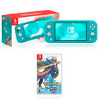 Kyпить Nintendo Switch Lite Turquoise + Nintendo Pokemon Shield/Sword на еВаy.соm