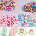 10g/pack Polymer clay fake candy sweets sprinkles diy slime phone supp  @M image