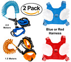(2 Pack) Locking Anti-Lost Wrist Link/Band Babies Toddlers Kids Harness Tether