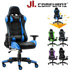 Executive Racing Gaming Chair Adjustable Swivel Computer Desk Home Office Chair