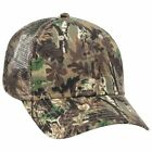 Wholesale 12 x Camouflage Cotton Blend Twill 6 Panel Low Profile Mesh Back Truck