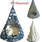 Pet Hammock Cat Dog Sleeping Bed Conical Basket Cage Comfortable Soft House Cute