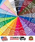 Kyпить 100% Cotton Paisley Print Double-Sided Scarf Head Wrap Neck Headband Bandana на еВаy.соm