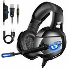 Gaming Headset For PS4 Xbox One PC Laptop Noise Cancelling ONIKUMA K5 AU