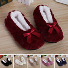 Womens Maternity Home Indoor Slippers Cosy Winter Warm Floor Socks Casual Shoes