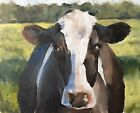 Cow Art PRINT Wall Art from original oil painting by James Coates 667