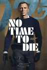 "James Bond No Time to Die Poster 48x32"" 40x27"" 36x24 Daniel Craig 007 Print Silk $13.9 USD on eBay"