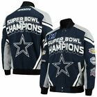 DALLAS COWBOYS 2019 NFL 5 TIME SUPERBOWL CHAMPION COMMEMORATIVE TWILL JACKET $119.99 USD on eBay