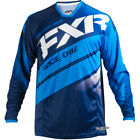 New FXR Racing Mission MX Navy Blue White Motocross Jersey Yamaha Enduro OUTLET