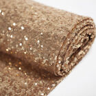 """Glitter Sequin Fabric 50"""" Wide By the Yard Wedding Party Christmas Decoration"""