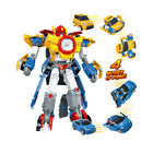 NEW Tobot 3 In 1 Transformation 3 Cars Robot Figure Merge Deformation Toys