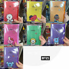BTS BT21 Official Authentic Goods PVC Diary 96p 120x180mm +Traking Number