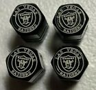 Chrome Engraved  las Vegas / Oakland Raiders Tire Valve Stem cap Covers 4 Pc set $8.0 USD on eBay