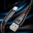 Floveme Braided BASIC Lightning Micro USB TYPE C Fast Charging Cable For Android
