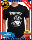 New Triumph Engine Motorcycle Biker T-shirts Tee M-3XL US 100% cotton trend 2020 $11.99 USD on eBay