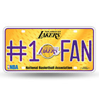Rico NBA Number One Fan License Plate on eBay