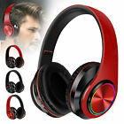 Bluetooth 5.0 Wireless Headphones Over Ear Mic Stereo Earphones Headset Earbuds