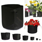 Fabric Grow Bag Planter Pot Root Pouch 1,3,5,7,10,15,20 Gallon Container Grow