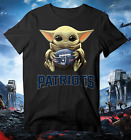 New England Patriots Baby Yoda shirt, Star Wars Unisex cotton Shirt, Baby Yoda F $19.99 USD on eBay