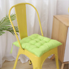 NEW 10 Colors Square Thicker Cushions Chair Seat Pad Dining Bed Room Garden UK