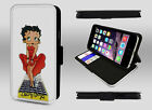 Betty Boop Retro Sexy Hearts Classy Lady Wallet Leather Phone Case Flip Cover £9.95 GBP on eBay