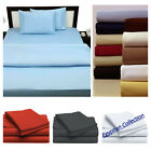 Egyptian Comfort 1800 Count Series 4 Piece Bed Sheet Set Deep Pocket Bed Sheets image