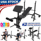 Used, Home Gym Weight Bench Workout Equipment Multi-functional Fitness Training US for sale  Shipping to Nigeria
