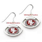 San Francisco 49ers Football Logo Pendant Earrings With 925 Earring Wires $7.99 USD on eBay