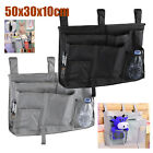 Sofa Bed Couch Arm Rest Organizer Storage Remote Control Table Bag Holder Pocket