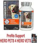 Cosequin DS 60 120 240 Count MSM Chondroitin Max Strength Dog Joint Supplement