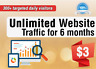 More images of Unlimited Website Traffic For 6 Months