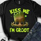 Baby Groot Kiss Me I'm Groot Men Shirt Mothers Day Gift Print in US