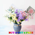 28 Head Artificial Flowers Silk Fake Floral Outdoor Flower Home Vase Decoration