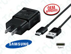Original Samsung Galaxy S8 S9 Plus + Note 8 Fast Wall Charger 1M Type-C Cable